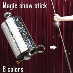 1.1/1.2/1.5m Stainless Steel Pocket Self-defense Telescopic Stick Portable Martial Arts Performance Metal Extension Poles