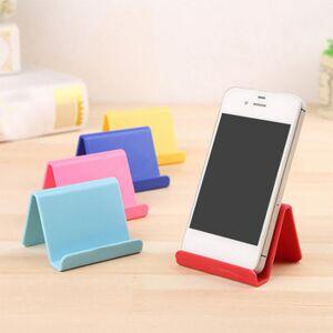 Portable Color Phone Stand Universal Mobile Stand Cell Phone Holder Smartphone Support Tablet Desktop Random Color