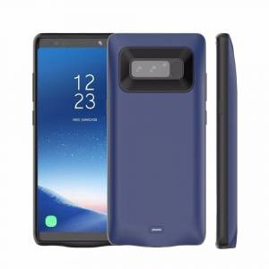 Samsung Portable Power Bank For Samsung Note 8 Rechargeable External Charging Case ABS TPU 5500mAh Large Capacity Phone Backup Battery