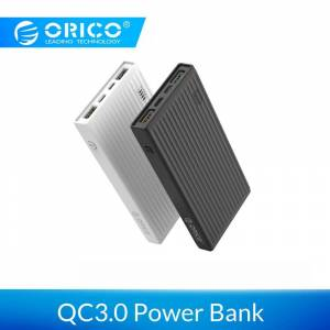 ORICO 10000mAh Universal Power Bank QC3.0 Quick Charge Dual-way Powerbank External Phone Backup Battery Charge For iPhone