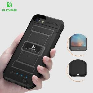 FLOVEME Battery Charger Case For iPhone 6 6s 7 8 Plus Power Bank Case Portable External Backup Charging Case Cover 3000/4200mAh