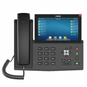Fanvil X7 IP Phone HD Video Call With Camera SIP Telephone Bluetooth WiFi VoIP Phone Door Office Wireless Telephone Power Supply