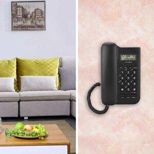 KX-T076 Home Hotel Wired Desktop Wall Phone Office Landline Telephone Black White telefono fijo para casa home phone Telephone