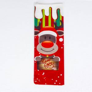 Sui Bao Christmas Red Wine Bag Christmas Decoration Creative Red Wine Bottle Set Santa Claus Red Wine Decoration Bag