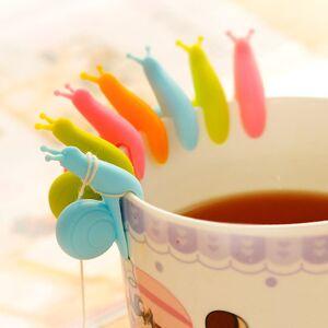 2 PC Color Random Tea Tool Cup Small Snail Recognizer Device Tea Infuser Cup Of Tea Hanging Bag