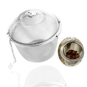 Tea Infuser Locking Spice Tea Strainer Reusable Mesh Tea Ball Filter Loose Tea Spice Strainer 45MM/55 MM Diameter