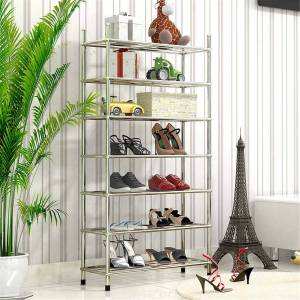 3/4/5 Layer Shoe Rack Storage Shoes Shelf Stainless steel Shoe Rack Boots Sneakers Stand Portable DIY Shoes Cabinet Organizer