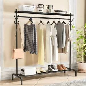New Clothes Rack High Quality Hangers Coat Rack Save Space Clothing Rack Drying Hanger Coat Racks Living Room Storage Furniture