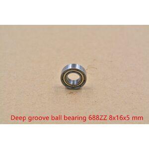 8mm bearing 688-2RS 688ZZ F688ZZ 8mmx16mmx5mm miniature double sealing cover deep groove ball bearing 1pcs