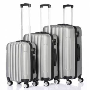 """3pcs/pack Travel Luggage Suitcase with Lock Family 20"""" 24"""" 28"""" Universal Wheel Trolley Case Set Password Luggage Case"""