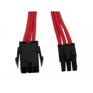 Gelid  Solutions 6-Pin VGA Extension Cable - Red - 30 cm