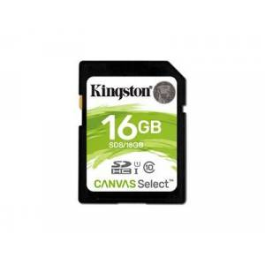 Kingston Canvas Select SDHC - 16 GB