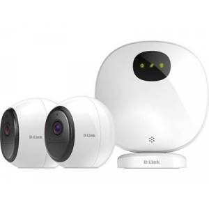 D-Link DCS-2802KT Video Surveillance Kit Wireless
