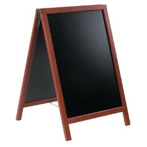 Securit Duplo Pavement Board 750 x 555mm Mahogany