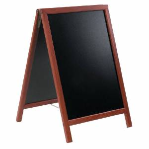 Securit Duplo Pavement Board 750 x 555mm Mahogany