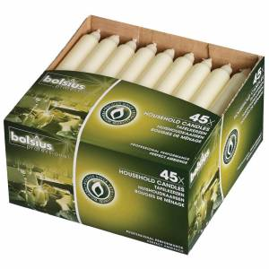Bolsius 7 Bistro Candles Ivory (Pack of 45)