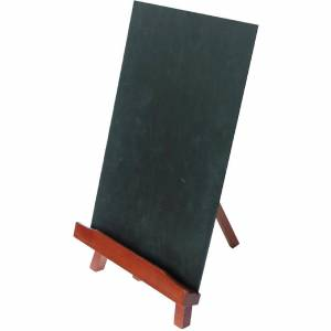 Securit Bar Top Easel and Chalkboard A4