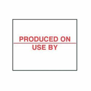 Avery Dennison Produced On Labels (Pack of 14000)