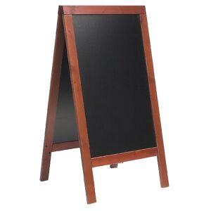 Securit Duplo Pavement Board 1350 x 700mm Mahogany