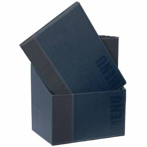 Securit Contemporary Menu Covers and Storage Box A4 Blue (Pack of 20)