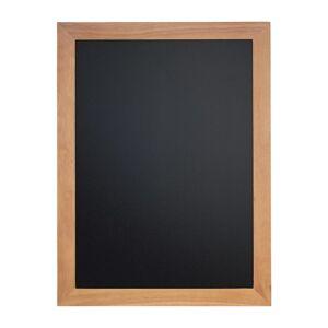 Securit Wall Mounted Blackboard 800x600mm Teak