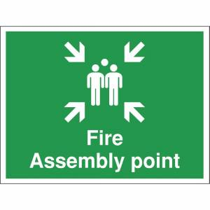 Nisbets Fire Assembly Point Sign