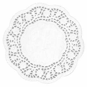 Fiesta Round Paper Doilies 165mm (Pack of 250)