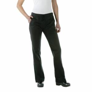 Chef Works Womens Executive Chef Trousers Black L Size: L