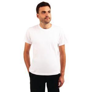 Nisbets Unisex Chef T-Shirt White M Size: M