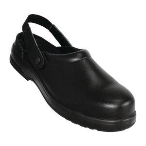Lites Safety Footwear Lites Unisex Safety Clogs Black 45 Size: 45