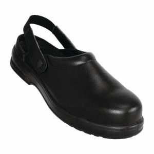 Lites Safety Footwear Lites Unisex Safety Clogs Black 41 Size: 41