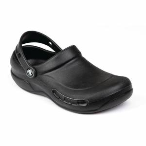 Crocs Black Bistro Clogs 43 Size: 43