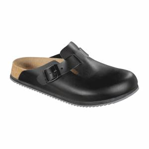 Birkenstock Super Grip Professional Boston Clogs Black 42 Size: 42
