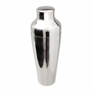 Beaumont Mezclar Art Deco French Cocktail Shaker Stainless Steel