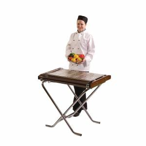 Cinders Lightweight Propane Gas Barbecue Slimfold SG80