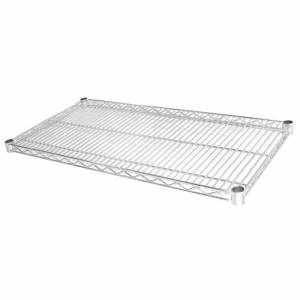 Vogue Chrome Wire Shelves 1220x610mm (Pack of 2)