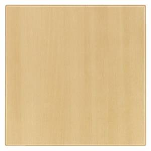 Werzalit plus Werzalit Pre-drilled Square Table Top Planked Beech 700mm
