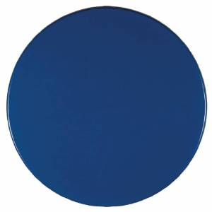 Werzalit plus Werzalit Pre-drilled Round Table Top Deep Blue 600mm