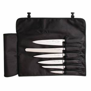 Dick Black Textile Roll Bag 6 Slots