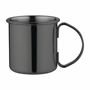 Olympia Metal Mug 500ml Gunmetal