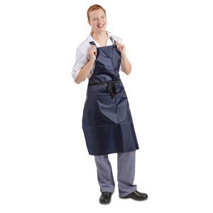 Whites Chefs Clothing Whites Light Duty Waterproof Bib Apron Blue