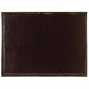 Olympia Faux Leather Large Placemat