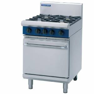 Blue Seal Static Natural Gas Oven Range G504D-NAT