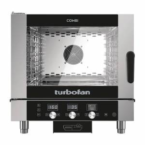 Blue Seal Turbofan 5 Grid Touch Control Combi Oven With Auto Wash EC40D5