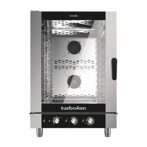 Blue Seal Turbofan 10 Grid Manual Control Combi Oven EC40M10