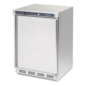 Polar C-Series Stainless Steel Under Counter Freezer 140Ltr