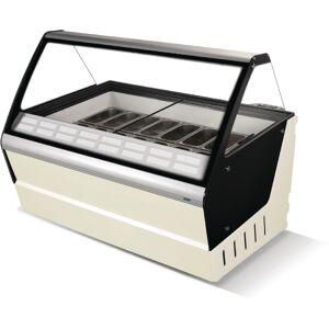 Crystal Optimus 16 Pan Ice Cream Display Counter