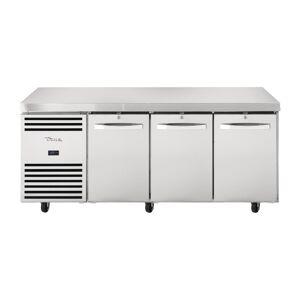True 3 Door 1/1 GN Counter Freezer TCF1/3-CL-SS-DL-DR-DR