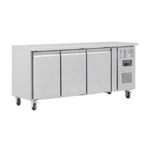 Polar U-Series Triple Door Counter Fridge 339Ltr