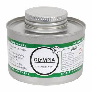 Olympia Liquid Chafing Fuel With Wick 6 Hour (Pack of 12)